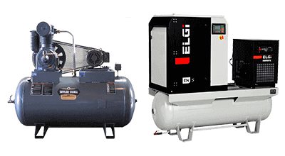 Mobile Mechanical's line of Air Compressors